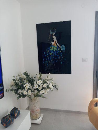 פיית השמיים והמים תמונה בסגנון מודרני מינימליסטי לסלון למשרד לחדר שינה לחדרי ילדים דגם 74889 photo review