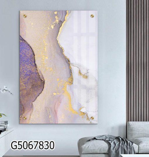 אבסטרקט נורדי - תמונת זכוכית תמונות מעוצבות לתלייה במשרד או בבית דגם G5067830