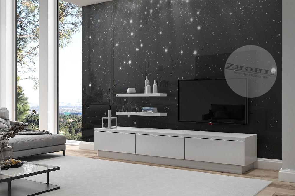 חיפוי קיר טלוויזיה חלל