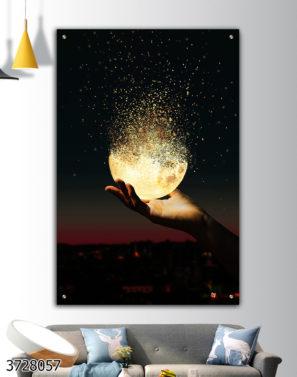 תביא את האור תמונת זכוכית מוטיבציה דגם 3728057