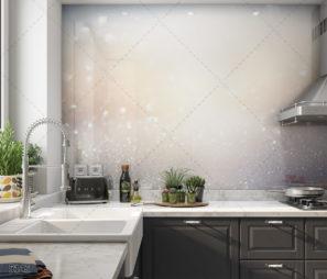 MIRICLE - חיפוי זכוכית מודרני למטבח דגם 5142