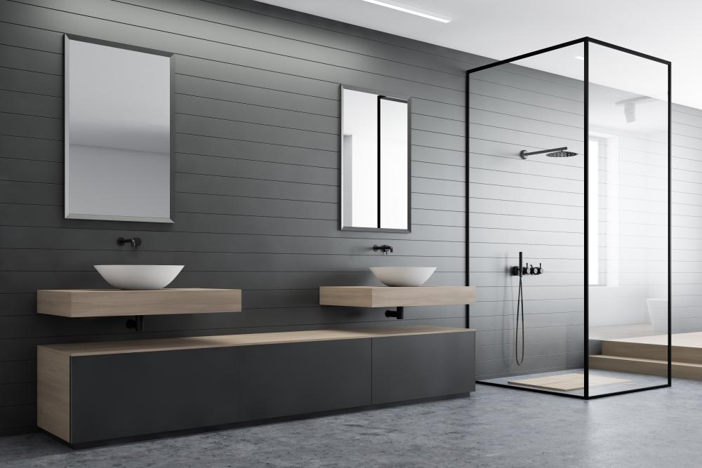 דלתות מקלחון מודרני