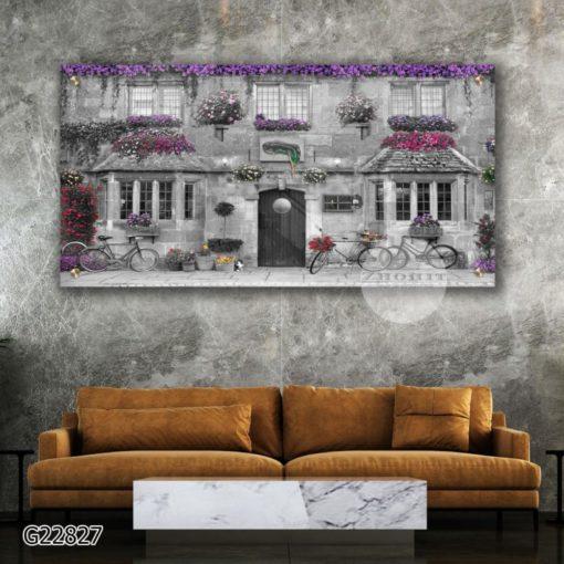 הכרם תמונות מגניבות של תל אביב לתלייה הדפסה על זכוכית לסלון או למשרד דגם G22827