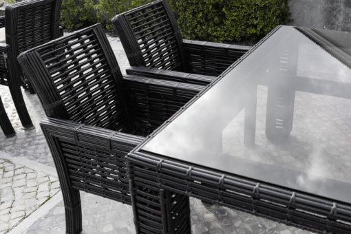 פלטת זכוכית לשולחן גינה | משטח זכוכית לשולחן גינה | הדפסה על זכוכית