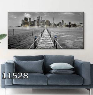 הדרך לעתיד - תמונה על זכוכית במנהטן לתלייה במשרדים מעוצבים דגם 11528