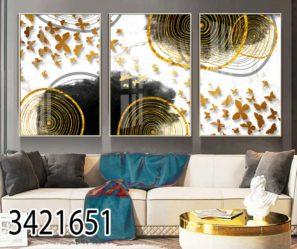 אולימפיאדת פרפרים סט תמונות מעוצבות לסלון דגם 3421651