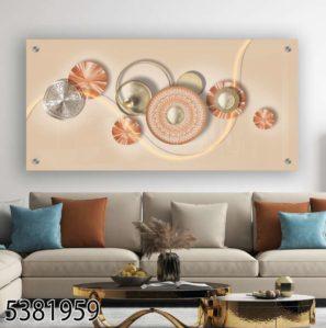 יוקרה לבית - תמונה על זכוכית תלת ממד בסגנון מודרני לסלון או לפינת אוכל דגם 5381959