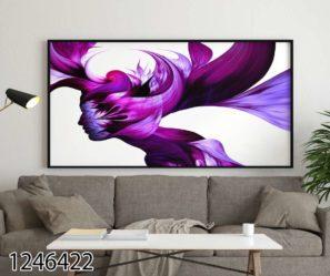 צבעי הדימיון - תמונת השראה על זכוכית לסלון לפינת אוכל או לקליניקה דגם 1246422