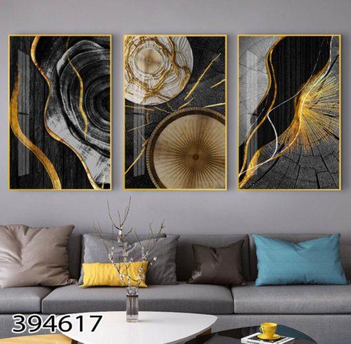 תמונות יוקרתיות לסלון תמונות יפות לסלון לתלייה מעל הספה דגם 394617