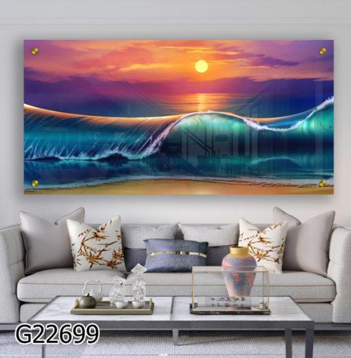תמונת ים לסלון 51